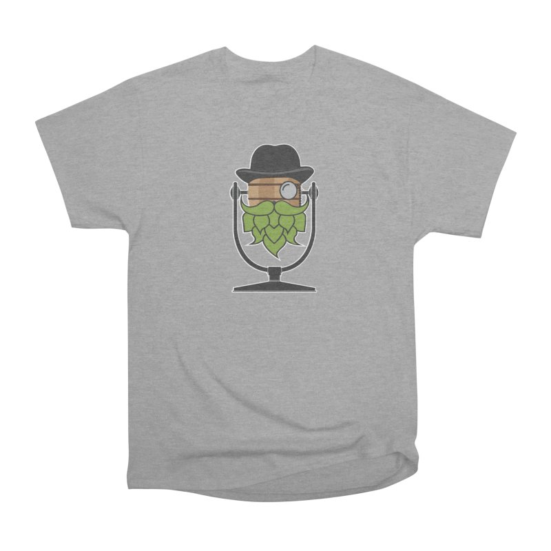 Hoppy (Dark Shirts) Women's Heavyweight Unisex T-Shirt by Barrel Chat Podcast Merch Shop