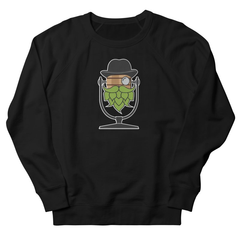 Hoppy (Dark Shirts) Women's French Terry Sweatshirt by Barrel Chat Podcast Merch Shop