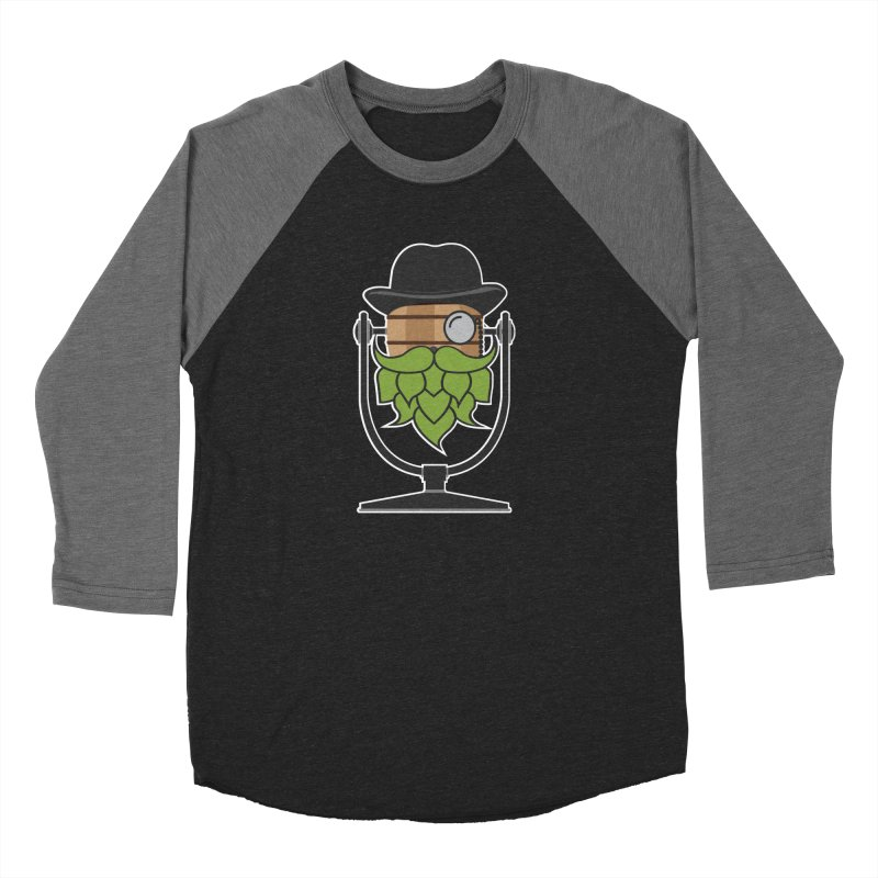 Hoppy (Dark Shirts) Women's Baseball Triblend Longsleeve T-Shirt by Barrel Chat Podcast Merch Shop