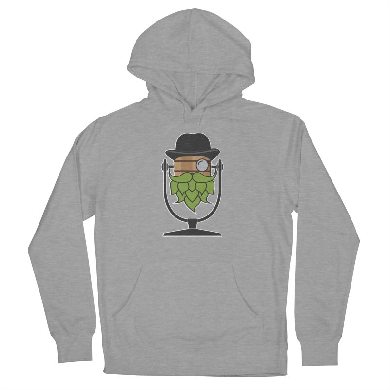 Hoppy (Dark Shirts) Men's French Terry Pullover Hoody by Barrel Chat Podcast Merch Shop