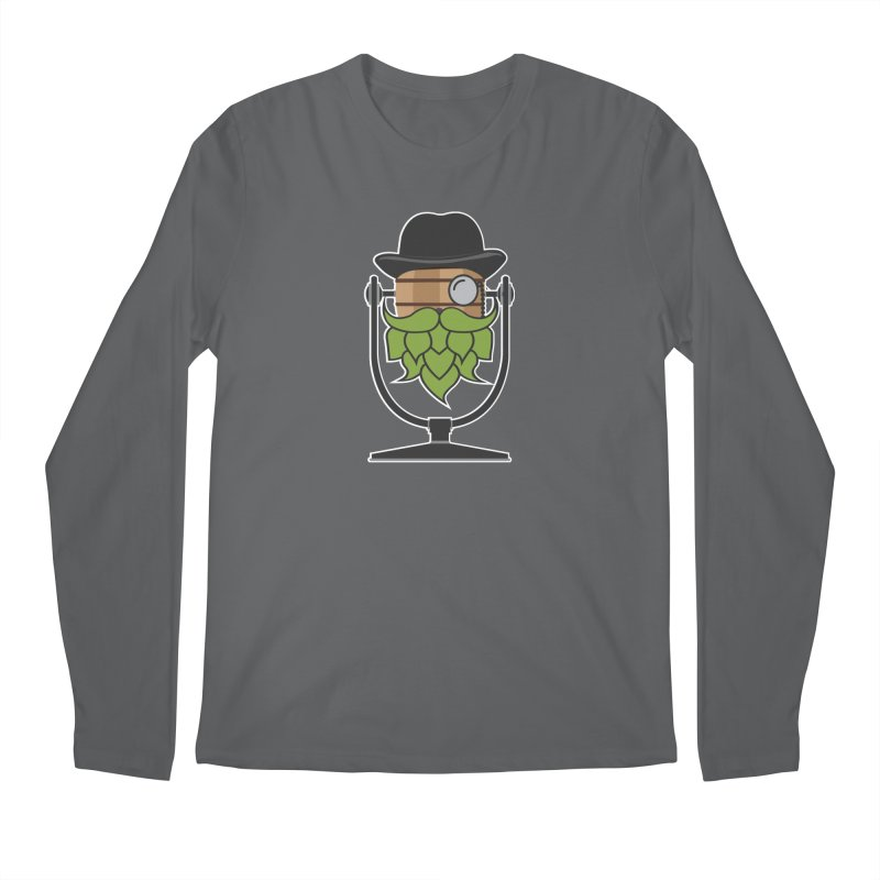 Hoppy (Dark Shirts) Men's Regular Longsleeve T-Shirt by Barrel Chat Podcast Merch Shop