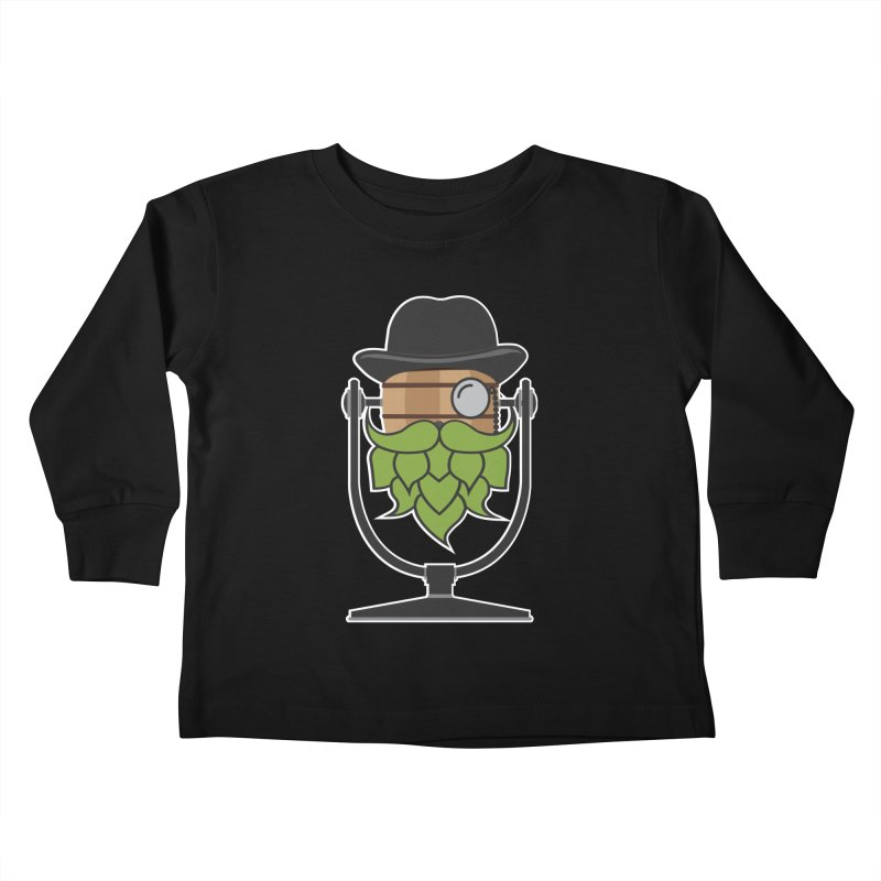 Hoppy (Dark Shirts) Kids Toddler Longsleeve T-Shirt by Barrel Chat Podcast Merch Shop