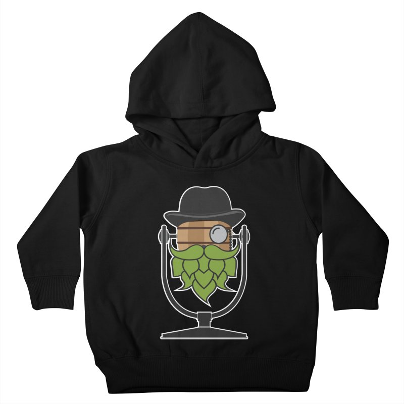 Hoppy (Dark Shirts) Kids Toddler Pullover Hoody by Barrel Chat Podcast Merch Shop