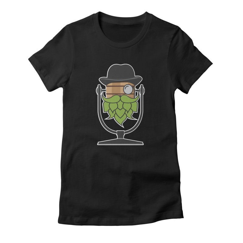 Hoppy (Dark Shirts) Women's Fitted T-Shirt by Barrel Chat Podcast Merch Shop