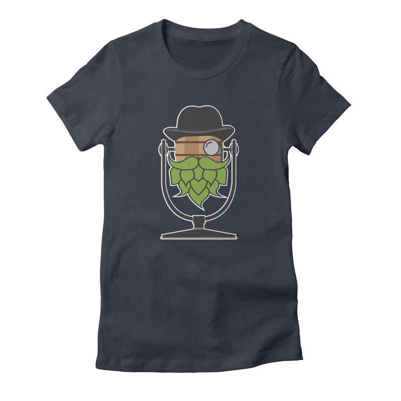 Hoppy (Dark Shirts) Women's Fitted T-Shirt by Barrel Chat Podcast Merch Shop