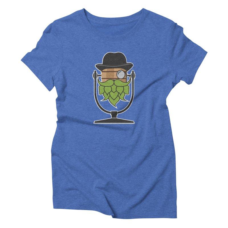 Hoppy (Dark Shirts) Women's Triblend T-Shirt by Barrel Chat Podcast Merch Shop