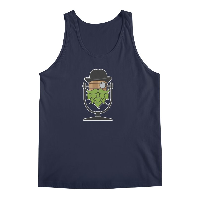 Hoppy (Dark Shirts) Men's Tank by Barrel Chat Podcast Merch Shop
