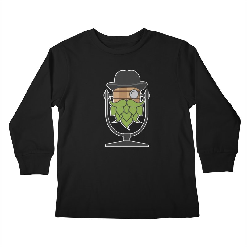 Hoppy (Dark Shirts) Kids Longsleeve T-Shirt by Barrel Chat Podcast Merch Shop