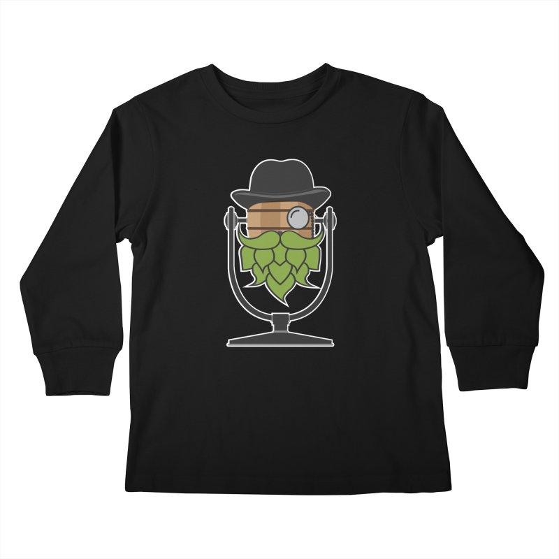 Hoppy (Dark Shirts) Kids Longsleeve T-Shirt by Barrel Chat Podcast Merch Shop
