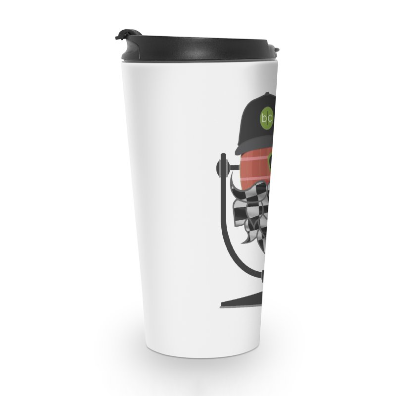 Race Day Hoppy Accessories Travel Mug by Barrel Chat Podcast Merch Shop