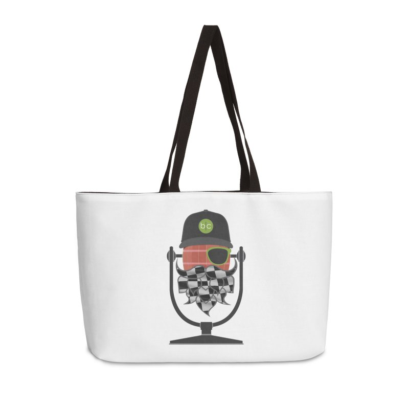 Race Day Hoppy Accessories Weekender Bag Bag by Barrel Chat Podcast Merch Shop