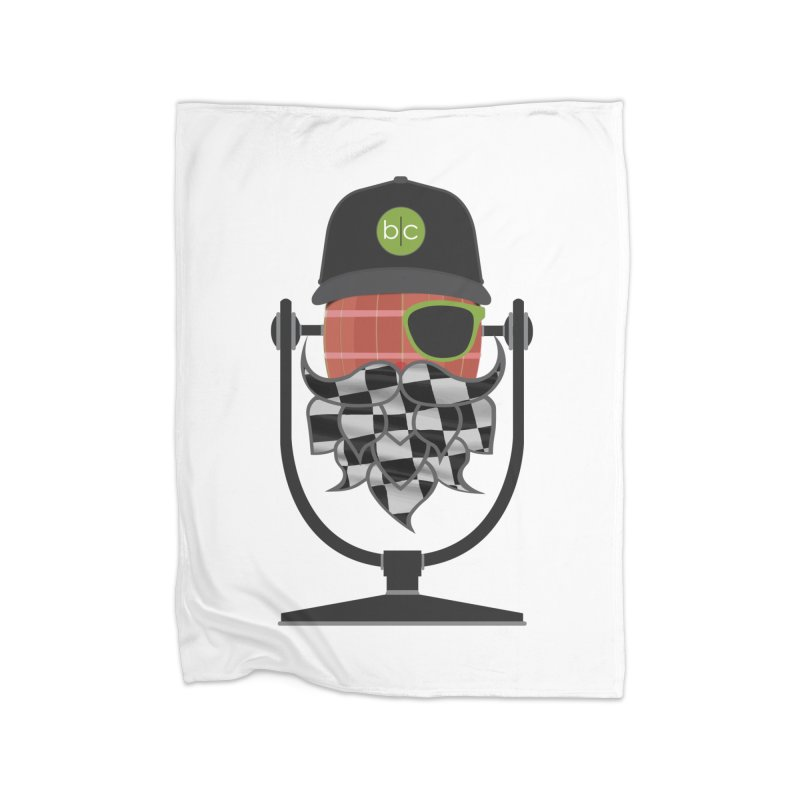 Race Day Hoppy Home Blanket by Barrel Chat Podcast Merch Shop