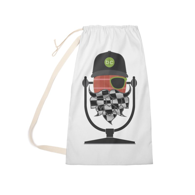 Race Day Hoppy Accessories Laundry Bag Bag by Barrel Chat Podcast Merch Shop