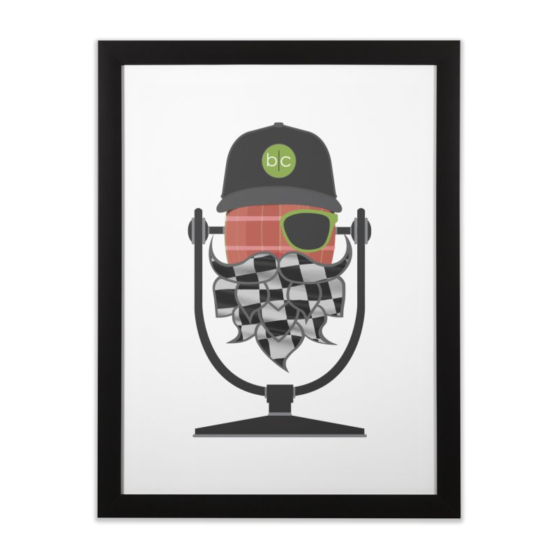 Race Day Hoppy Home Framed Fine Art Print by Barrel Chat Podcast Merch Shop