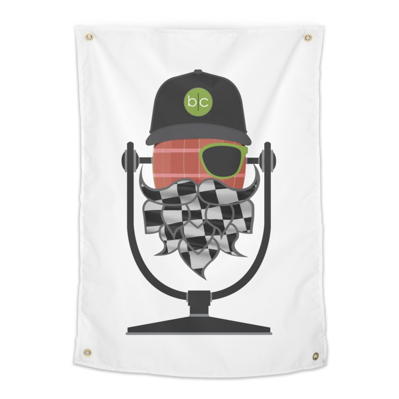 Race Day Hoppy Home Tapestry by Barrel Chat Podcast Merch Shop