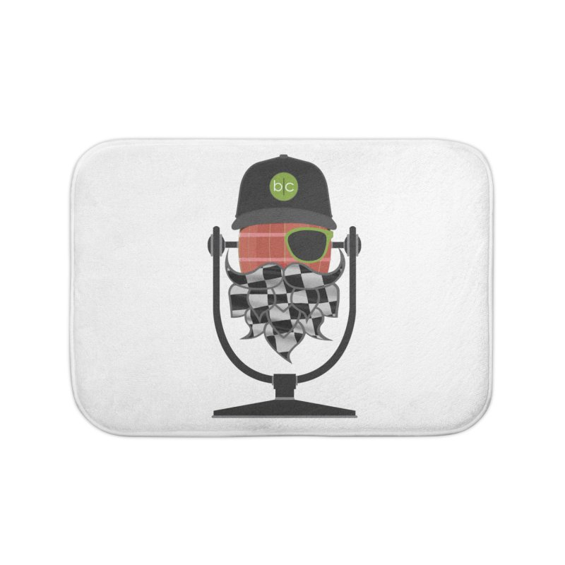 Race Day Hoppy Home Bath Mat by Barrel Chat Podcast Merch Shop