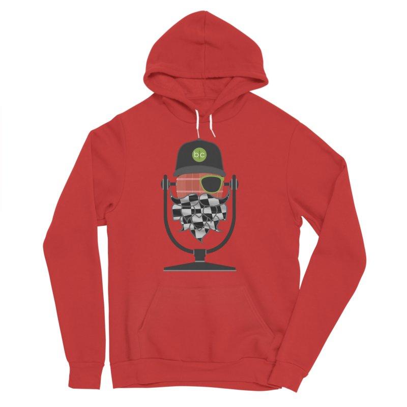 Race Day Hoppy Men's Sponge Fleece Pullover Hoody by Barrel Chat Podcast Merch Shop