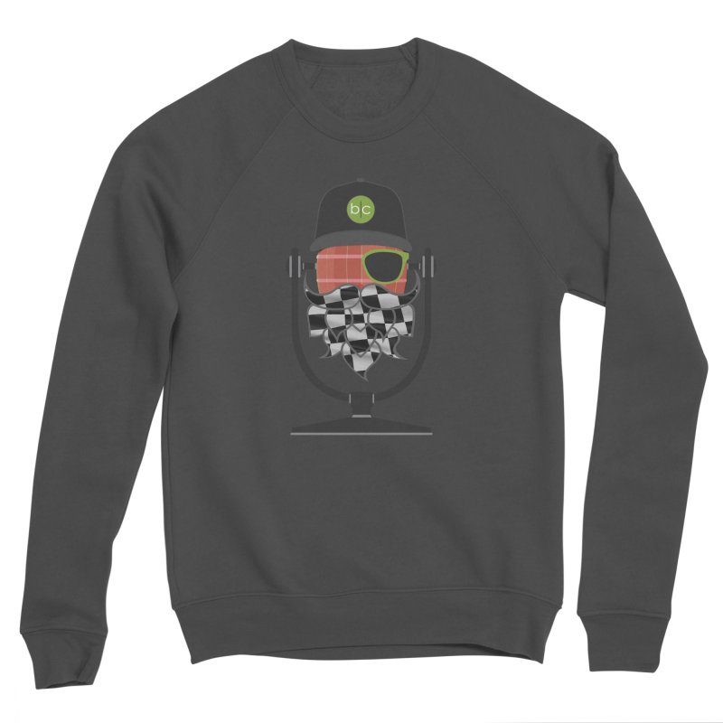Race Day Hoppy Men's Sponge Fleece Sweatshirt by Barrel Chat Podcast Merch Shop