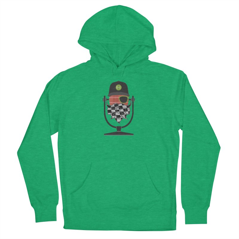 Race Day Hoppy Women's French Terry Pullover Hoody by Barrel Chat Podcast Merch Shop