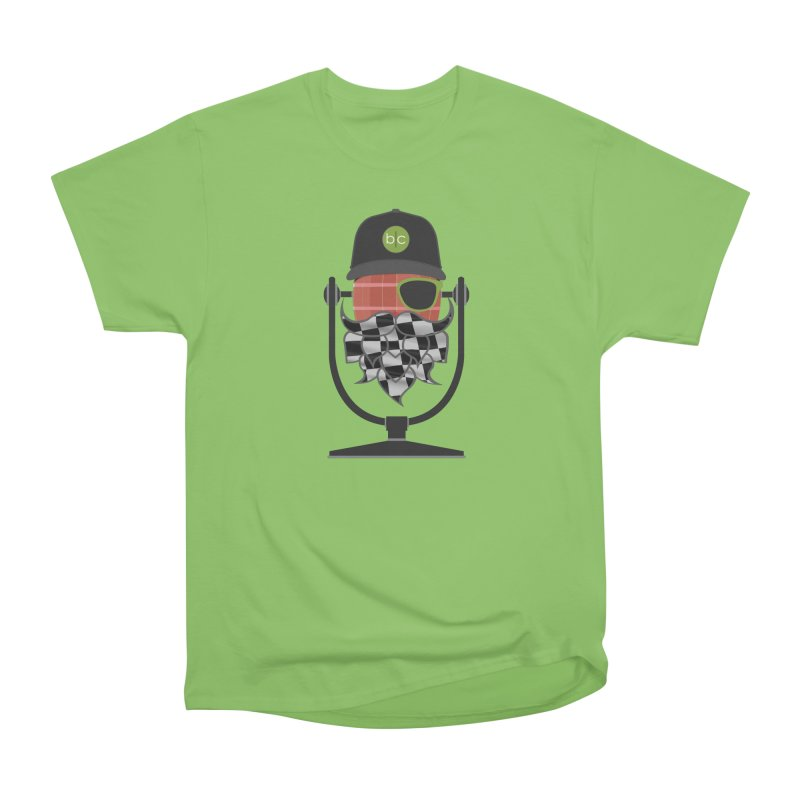 Race Day Hoppy Women's Heavyweight Unisex T-Shirt by Barrel Chat Podcast Merch Shop