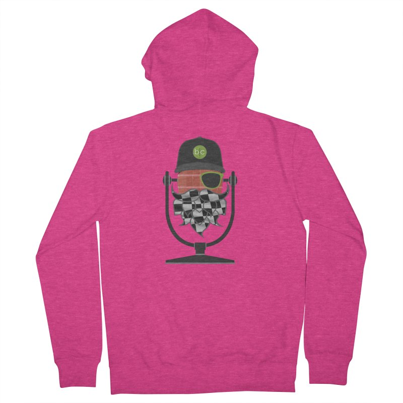 Race Day Hoppy Women's French Terry Zip-Up Hoody by Barrel Chat Podcast Merch Shop