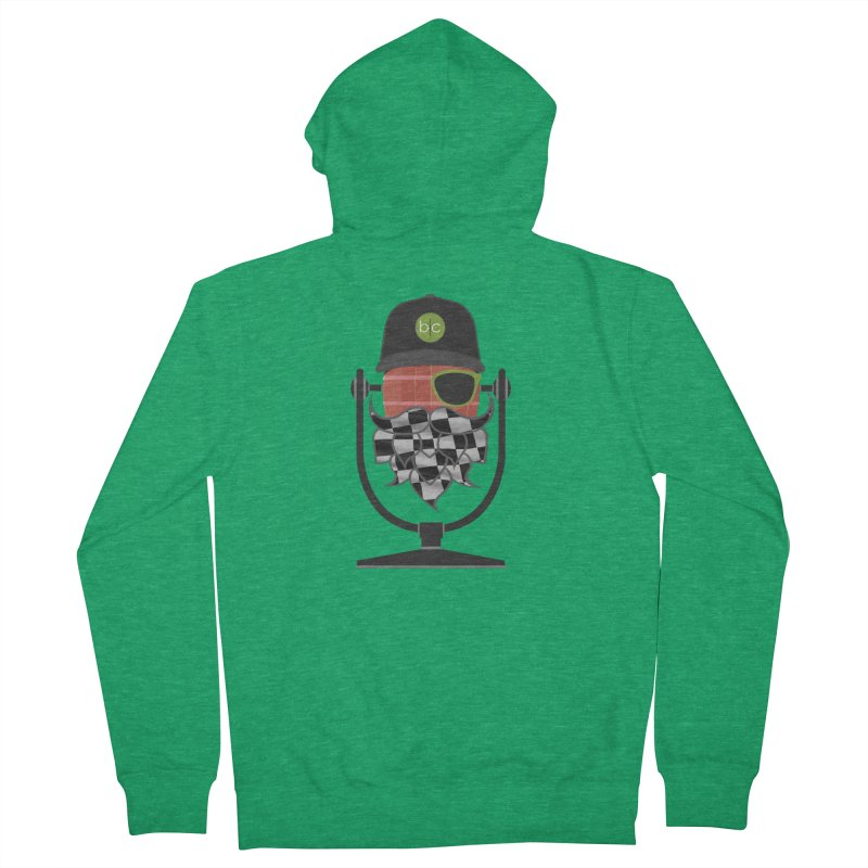 Race Day Hoppy Men's Zip-Up Hoody by Barrel Chat Podcast Merch Shop