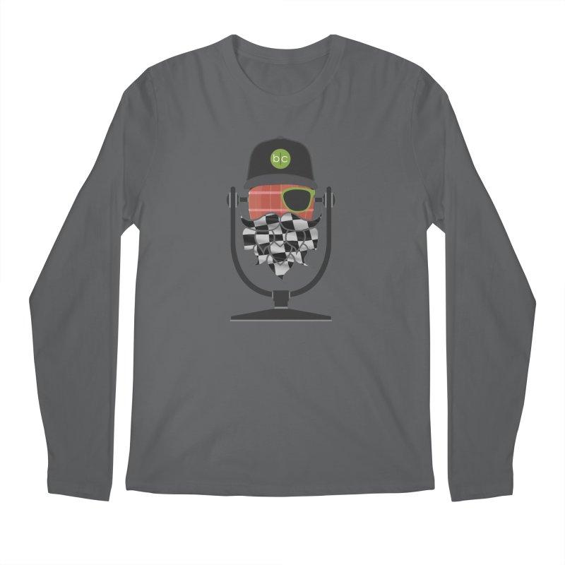 Race Day Hoppy Men's Regular Longsleeve T-Shirt by Barrel Chat Podcast Merch Shop