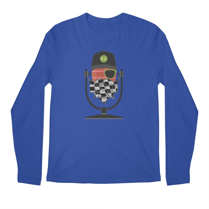 Race Day Hoppy Men's Regular Longsleeve T-Shirt by Barrel Chat Podcast Merch Shop