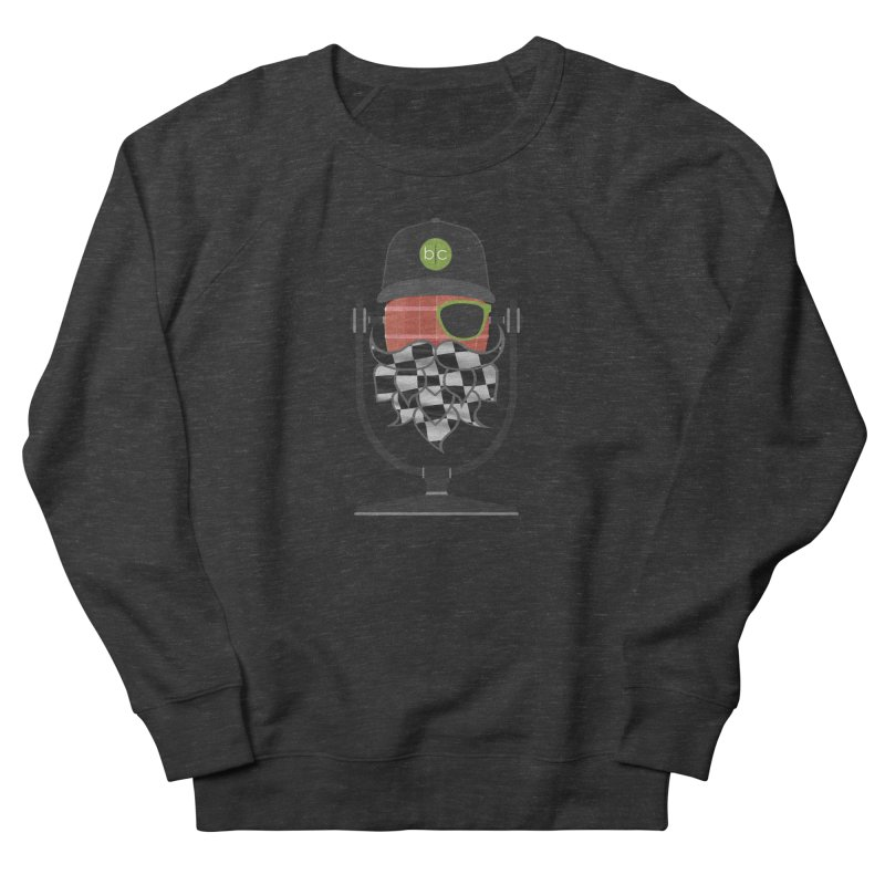 Race Day Hoppy Men's French Terry Sweatshirt by Barrel Chat Podcast Merch Shop