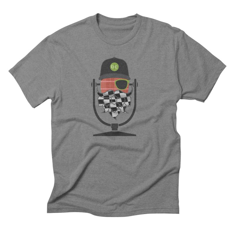 Race Day Hoppy Men's Triblend T-Shirt by Barrel Chat Podcast Merch Shop