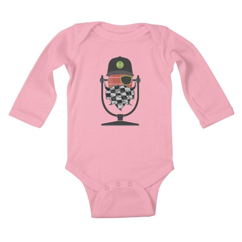 Race Day Hoppy Kids Baby Longsleeve Bodysuit by Barrel Chat Podcast Merch Shop