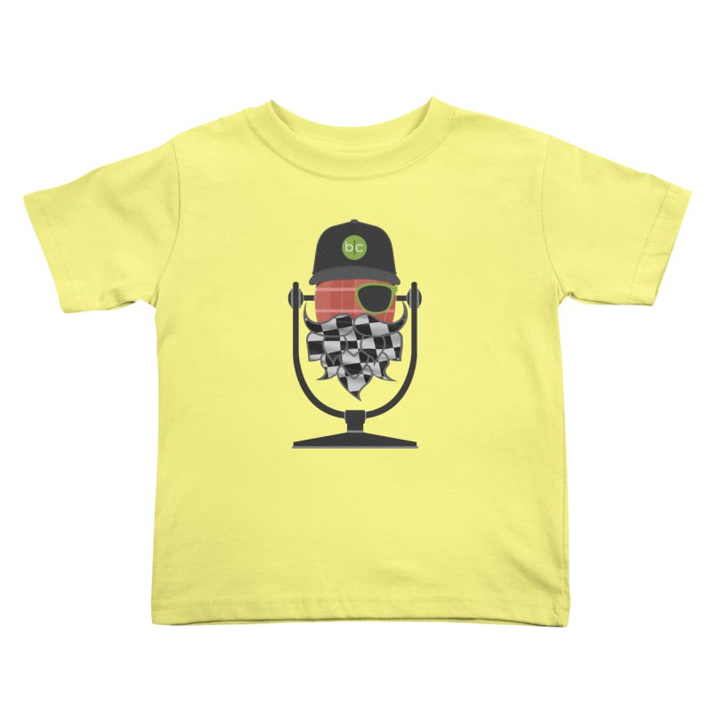 Race Day Hoppy Kids Toddler T-Shirt by Barrel Chat Podcast Merch Shop