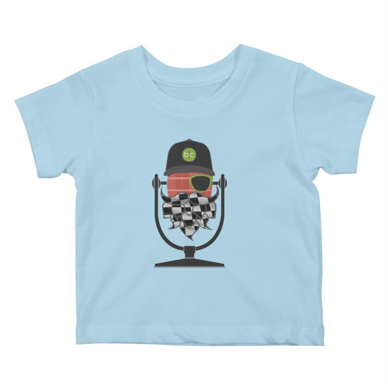 Race Day Hoppy Kids Baby T-Shirt by Barrel Chat Podcast Merch Shop
