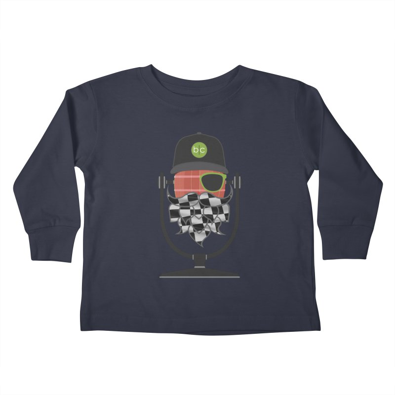 Race Day Hoppy Kids Toddler Longsleeve T-Shirt by Barrel Chat Podcast Merch Shop
