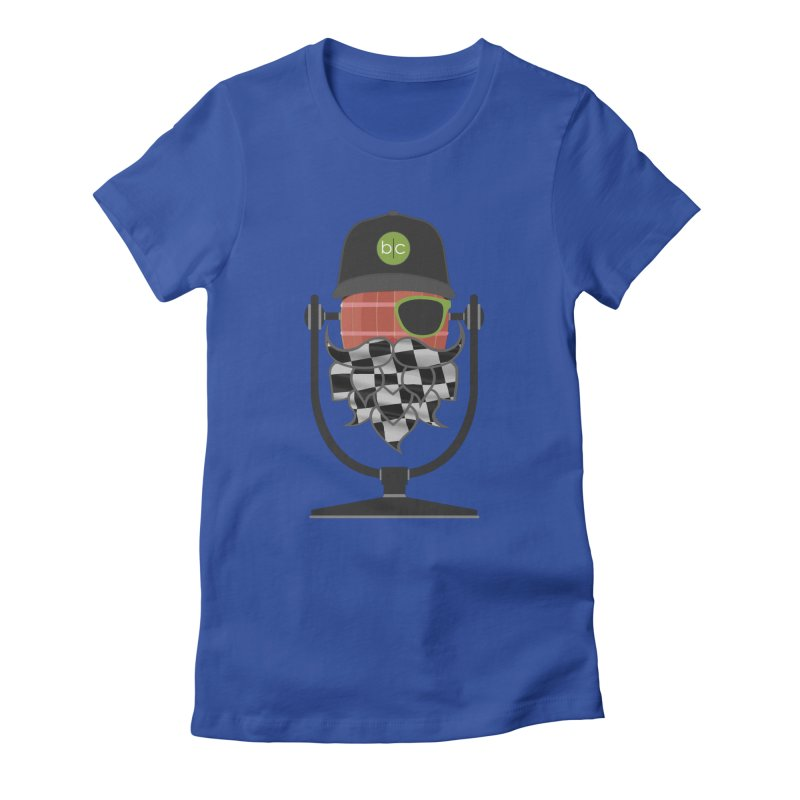 Race Day Hoppy Women's Fitted T-Shirt by Barrel Chat Podcast Merch Shop