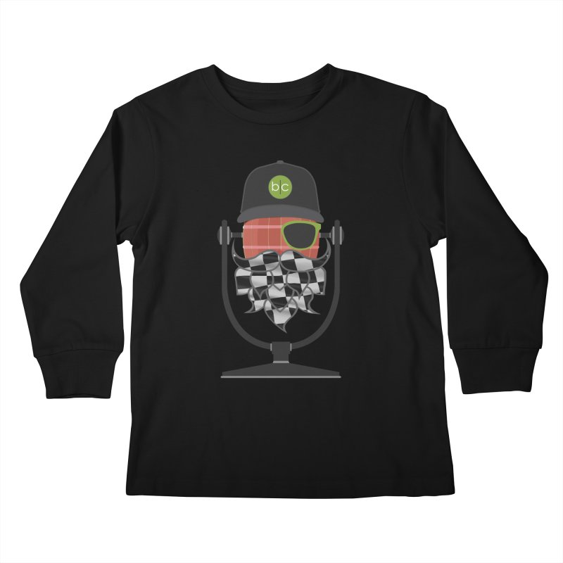 Race Day Hoppy Kids Longsleeve T-Shirt by Barrel Chat Podcast Merch Shop