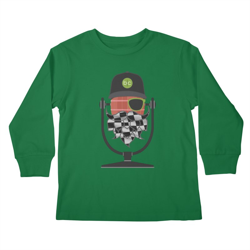 Race Day Hoppy Kids Longsleeve T-Shirt by Barrel Chat Podcast Merch Shop