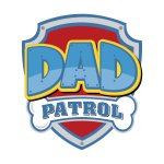ba071f3e Loading. Dad Patrol Men's T-Shirt by Bashfulonion's Artist Shop