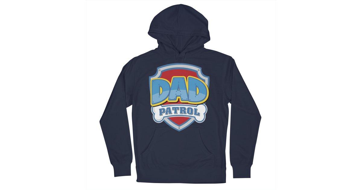 a4c75da1 Bashfulonion dad-patrol mens pullover-hoody