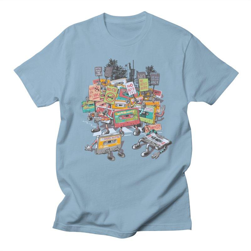 Analog Strike Men's T-Shirt by Artist Shop
