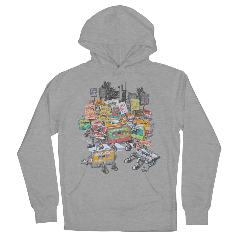 Analog Strike Women's French Terry Pullover Hoody by Artist Shop