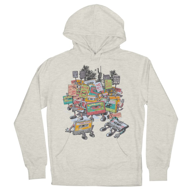 Analog Strike Men's French Terry Pullover Hoody by Artist Shop