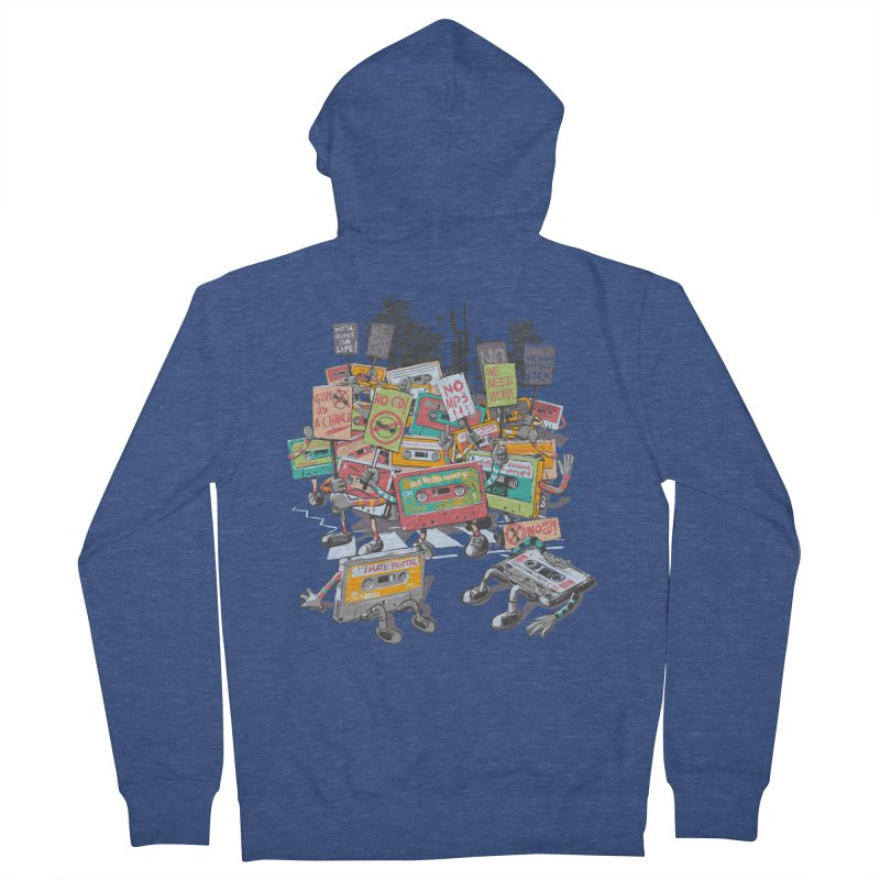 Analog Strike Women's French Terry Zip-Up Hoody by Artist Shop