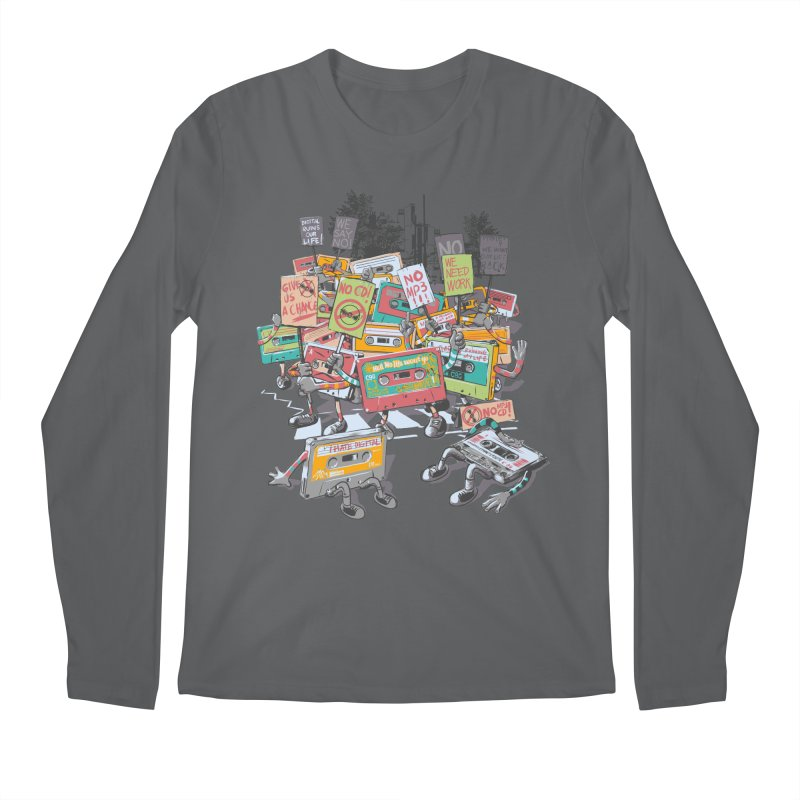 Analog Strike Men's Regular Longsleeve T-Shirt by Artist Shop