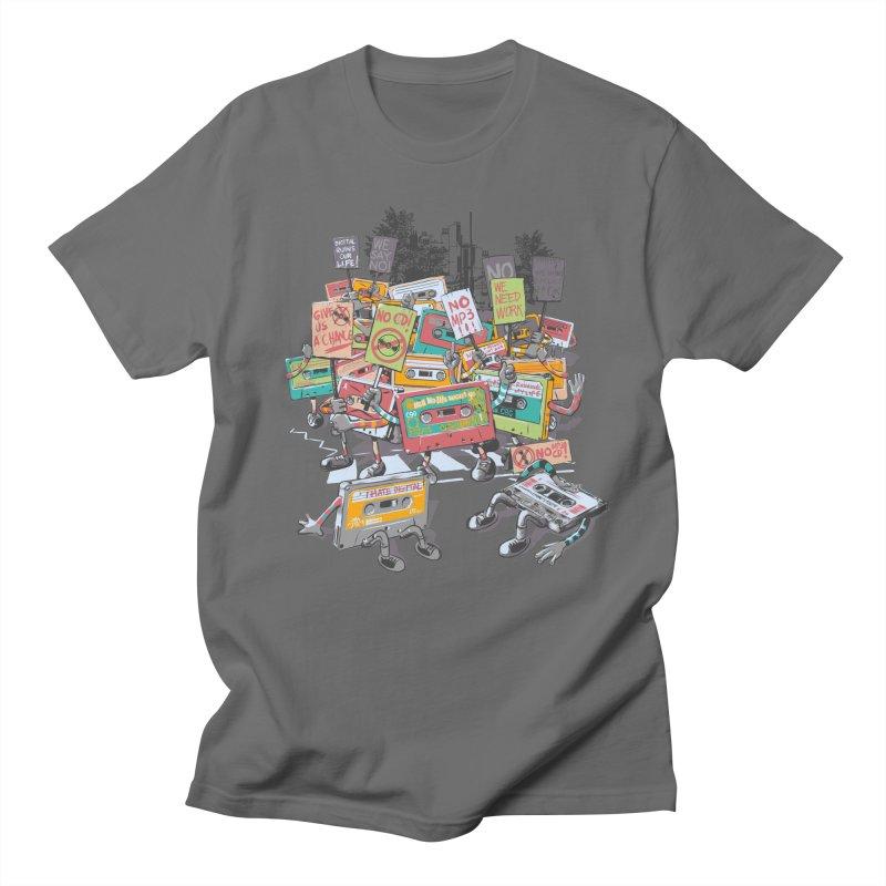 Analog Strike Men's Regular T-Shirt by Artist Shop