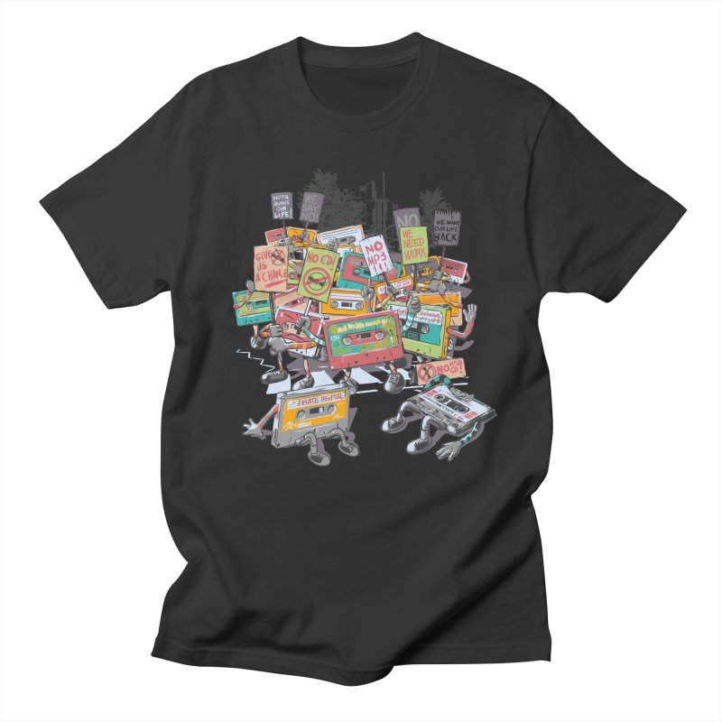 Analog Strike Men's T-shirt by Artist Shop