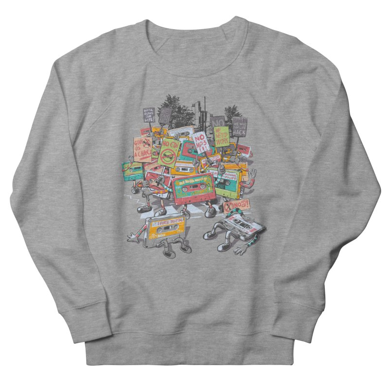 Analog Strike Women's French Terry Sweatshirt by Artist Shop