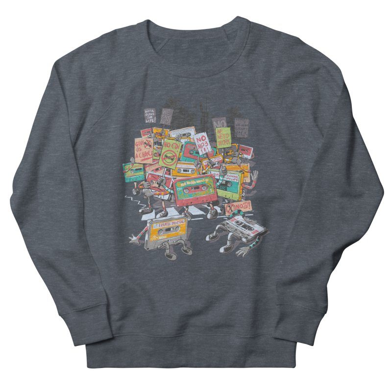 Analog Strike Men's French Terry Sweatshirt by Artist Shop