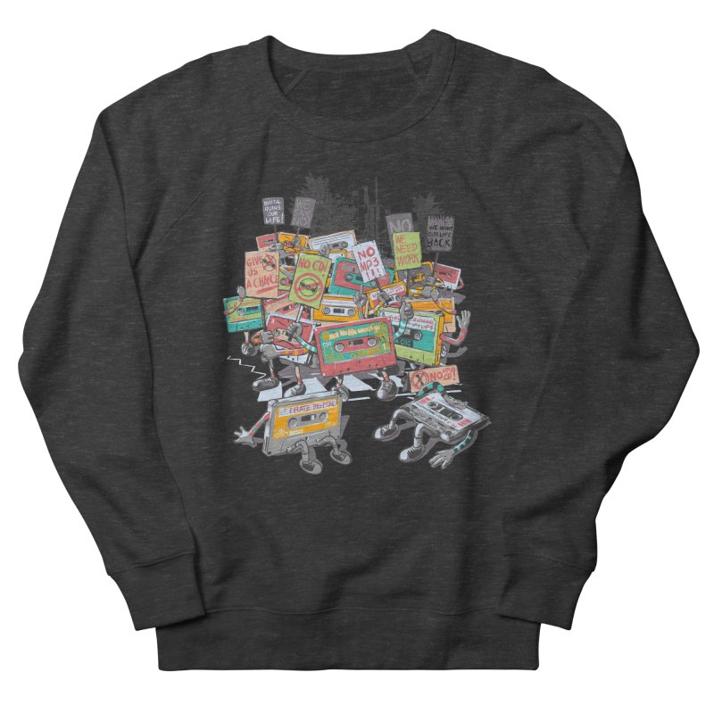 Analog Strike Men's Sweatshirt by Artist Shop