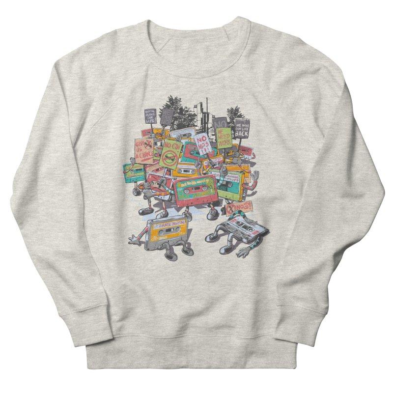 Analog Strike Men's French Terry Sweatshirt by Artist Shop